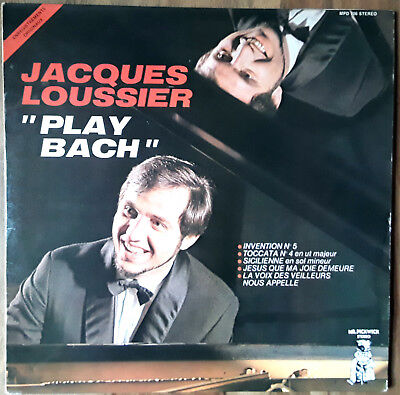 Jacques Loussier – Play Bach (Mr. Pickwick – MPD 706, FR 1974)