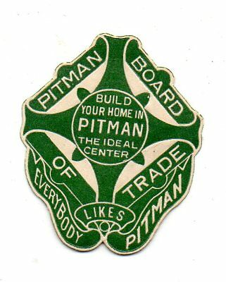 Pitman Board of Trade- Poster stamp - full gum