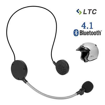 LTC Motorcycle Helmet Wireless Headphones Headset Bluetooth 4.0 Intercom Speaker