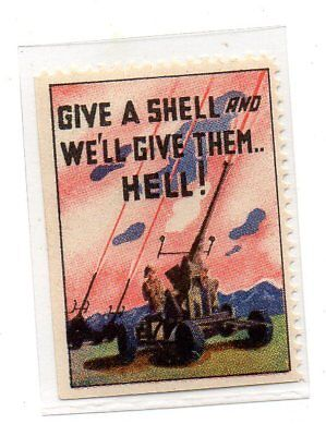 USA WW2 -Give a Shell and We'll give them Hell- cinderella