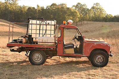 Land Rover Series 3 Original Fire Truck Running and Driveable  NO RESERVE