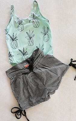 Island State Girls Bodysuit and Munster Shorts As 6