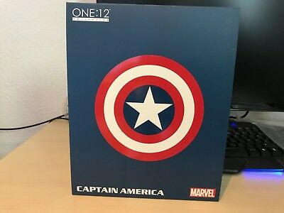 Mezco One:12 Collective Captain America mit OVP