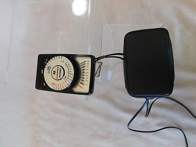HANIMEX PHOTO LIGHT METER with cover