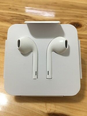 Original Apple Earbuds Headphones NO Bluetooth Earphone for iPhone X 7 8 Plus