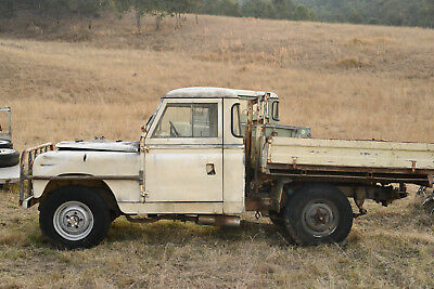 Land Rover Series 2 Ute (IIA)  not series 1 3  *PROJECT LANDROVER