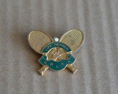 Goulburn District Lawn Tennis Association Life Member Badge