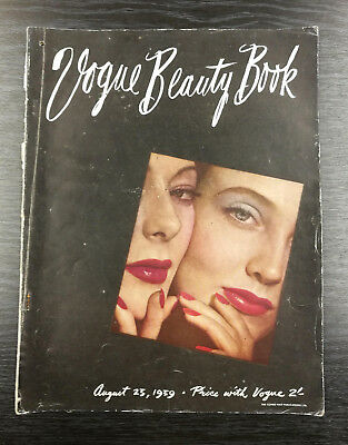 VOGUE Beauty Book - 23rd August 1939