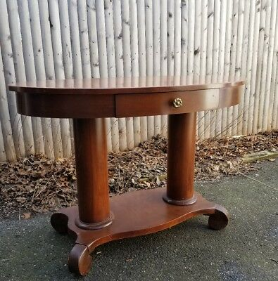 antique trestle table
