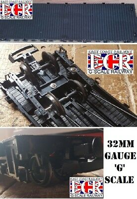 32mm GAUGE G SCALE FLATBED TO BUILD ON RAILWAY TRUCK GARDEN TRAIN 32 mm FLAT BED