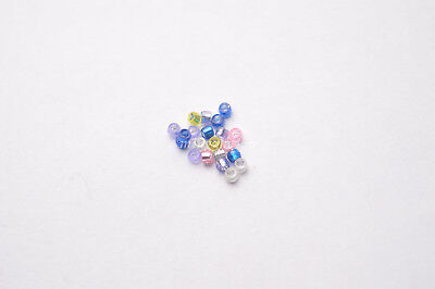 200pc Big Hole Beads Spacer Beads Necklace Bracelet Jewelry Findings