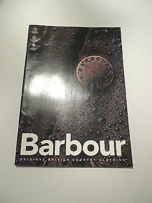 Barbour- Original British Country Clothing Brochure/catalog-  All In French