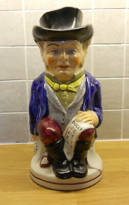 John Bull Toby Jug (a.k.a. The Landlord / The Rent Collector) 28cm