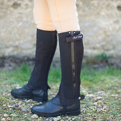 Just Chaps Adult Equestrian All Purpose Neoprene Horse  Riding Half Chaps