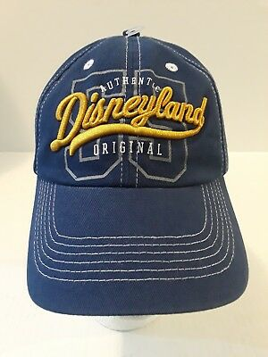Disneyland Authentic Baseball Cap Hat New Tag is Ripped Adult 57-62 CM Disney