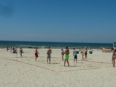 Beach volleyball courts. durable