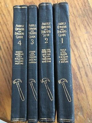 Audels Carpenters and Builders Guide 1923