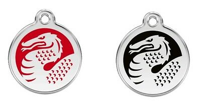 "DRAGON Pet ID Tags Great as Dog ID tags and Cat ID tags Medium 1 1/4""/ 30mm"