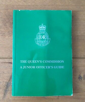 British Army 'The Queen's Commission' book RMAS Sandhurst SAS officer very rare