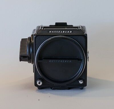 Hasselblad 501CM SLR. Black body