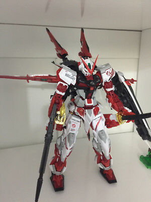 Built MG Gundam Seed Red frame astray 1/100 on decals Assembled action figure