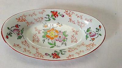 Asian Bowl Oriental Chinese Footed Small Pedestal Plate Tray Dish multi color