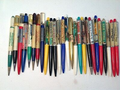 TWENTY SIX (26)  Floaty Pens And Pencils-18 Moving-8 That Do Not Move-But Nice