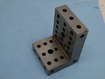 ANGLE PLATE STEP  MACHINIST TOOLMAKER HARDENED GRIND FIXTURE 3x4 1/8x3