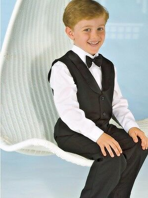BOYS BLACK TROUSERS, Size choices 000 to 16 YRS, NEW, AUSTRALIA, RANGE AVAILABLE