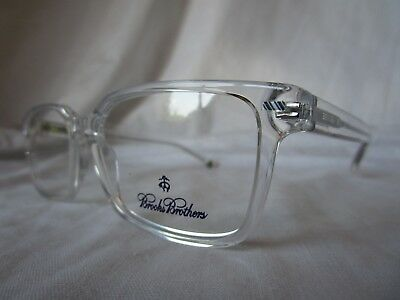 Brooks Brothers Eyeglass Frame Bb2040 6139 Crystal Clear 55-17-140 New Authentic