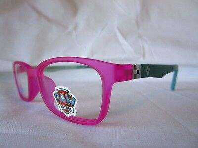 Nickelodeon Paw Patrol Pp02 Pink 45-15-125 Child Eyeglass Frame New & Authentic