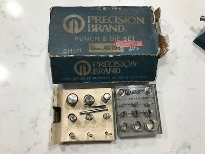 Precision Brand 40105 Punch And Die Set