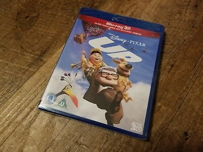 Disney's Up (3D + 2D Blu-ray, 2 Discs) *BRAND NEW/SEALED* READ