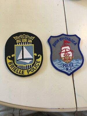2 NJ Police Patches Monmouth County