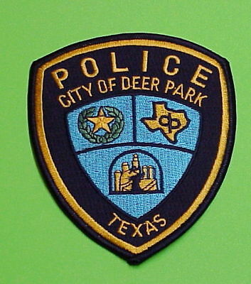 Deer Park  Texas  Tx   Police Patch   Free Shipping!!!