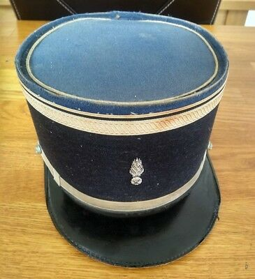 French Police Hat - Gendarmerie Nationale Departmentale kepi - Circa 1970s