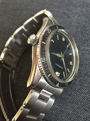 Vintage Diver Watch Caravelle Submariner Circa 1960