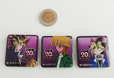 Yu-Gi-Oh! Badges Buttons Yami Yugi Joey Wheeler Yugi Muto Atem Can Badge