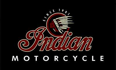 INDIAN MOTORCYCLE LOGO 3' X 5' USA BANNER/FLAG chief/scout $1 Shipping
