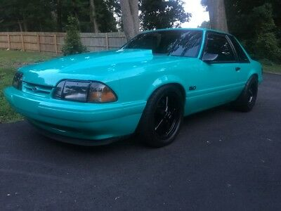 1991 Ford Mustang Lx 1991 ford mustang coupe Supercharged