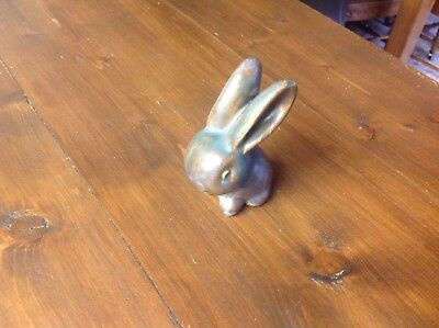 BOURNE DENBY, SNUB NOSED RABBIT, Signed.