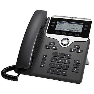 New! Cisco 7841 IP VolP Phone Telephone Gigabit (CP-7841-K9)