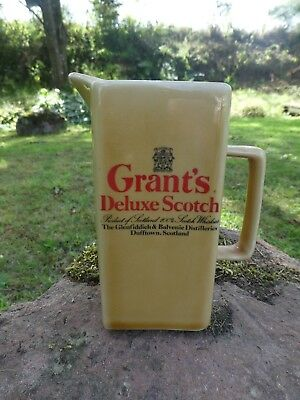 Buchan Ware Grants Deluxe Scotch Whisky Whiskey Large Water Jug