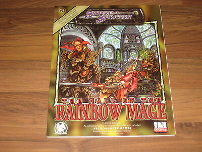 d20 G3 The Hall of the Rainbow Mage Adventure 2002 Sword & Sorcery WW8372 TOP
