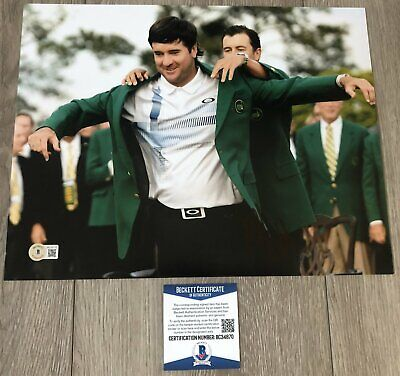 BUBBA WATSON SIGNED AUTOGRAPH THE MASTERS 11x14 PHOTO w/EXACT PROOF