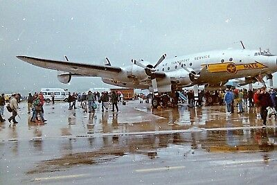 35 MM COLOR NEGATIVE STRIP OF 4:  Lockheed 749A Constellation  #14
