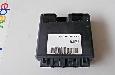 2001 Olds Intrigue Electronic Body Control Module Bcm Id 09388980, Free Shipping