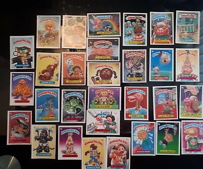 Garbage Pail Kids Lot 4 Of 30 Different Cards