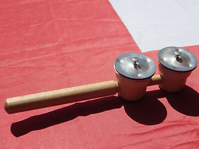 Wooden handled cymbals