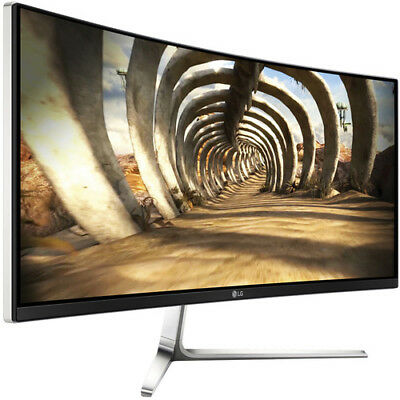 """LG 34UC97-S 34"""" UltraWide QHD Curved LED Backlit LCD Monitor with Thunderbolt"""